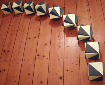 Rotating Double Cube sequence