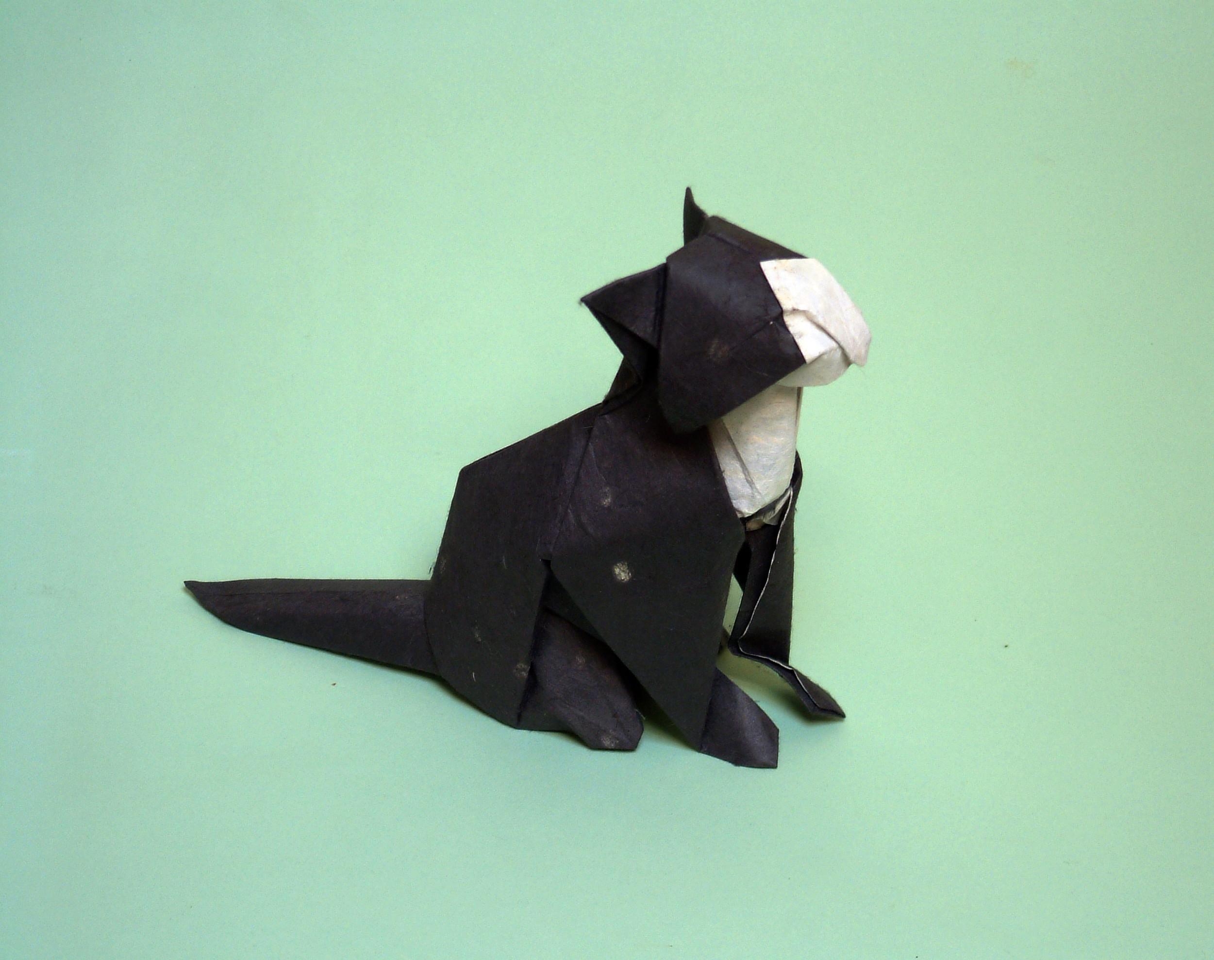 Diagrams David Brill Advanced Origami Fox Instructions Diagram Of The Squirrel