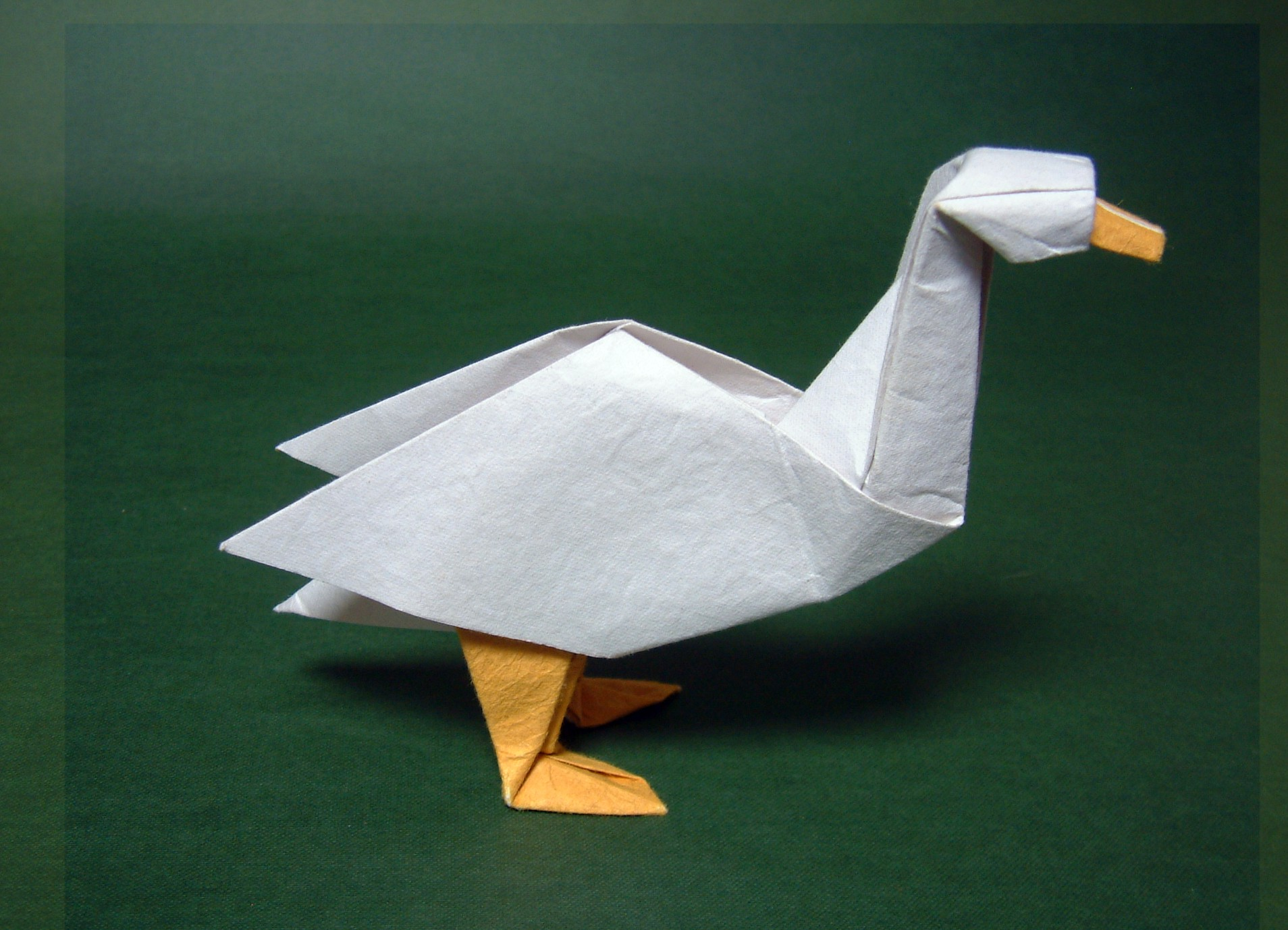 Origami david brill for How to make origami goose