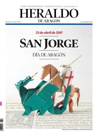 Heraldo de Aragon 23rd April2015