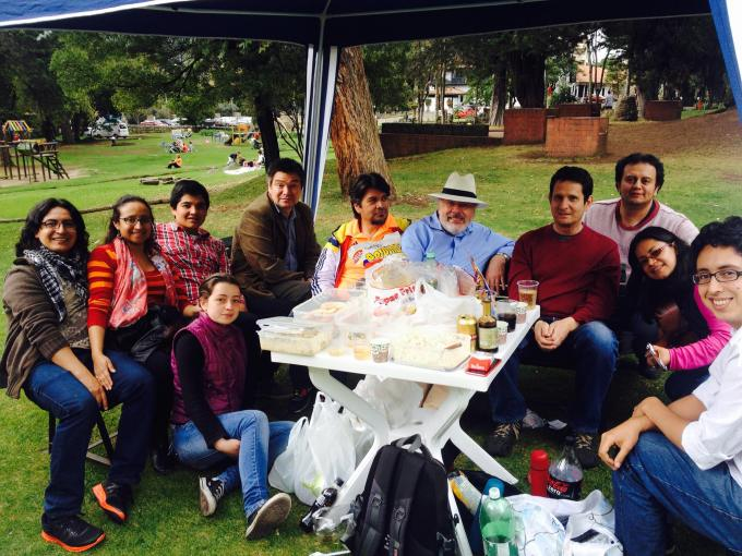 Bogota picnic