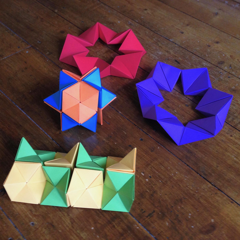 Куб трансформер из бумаги » Сделай сам 8