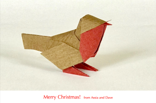 Season's Greetings from Dave andAssia!