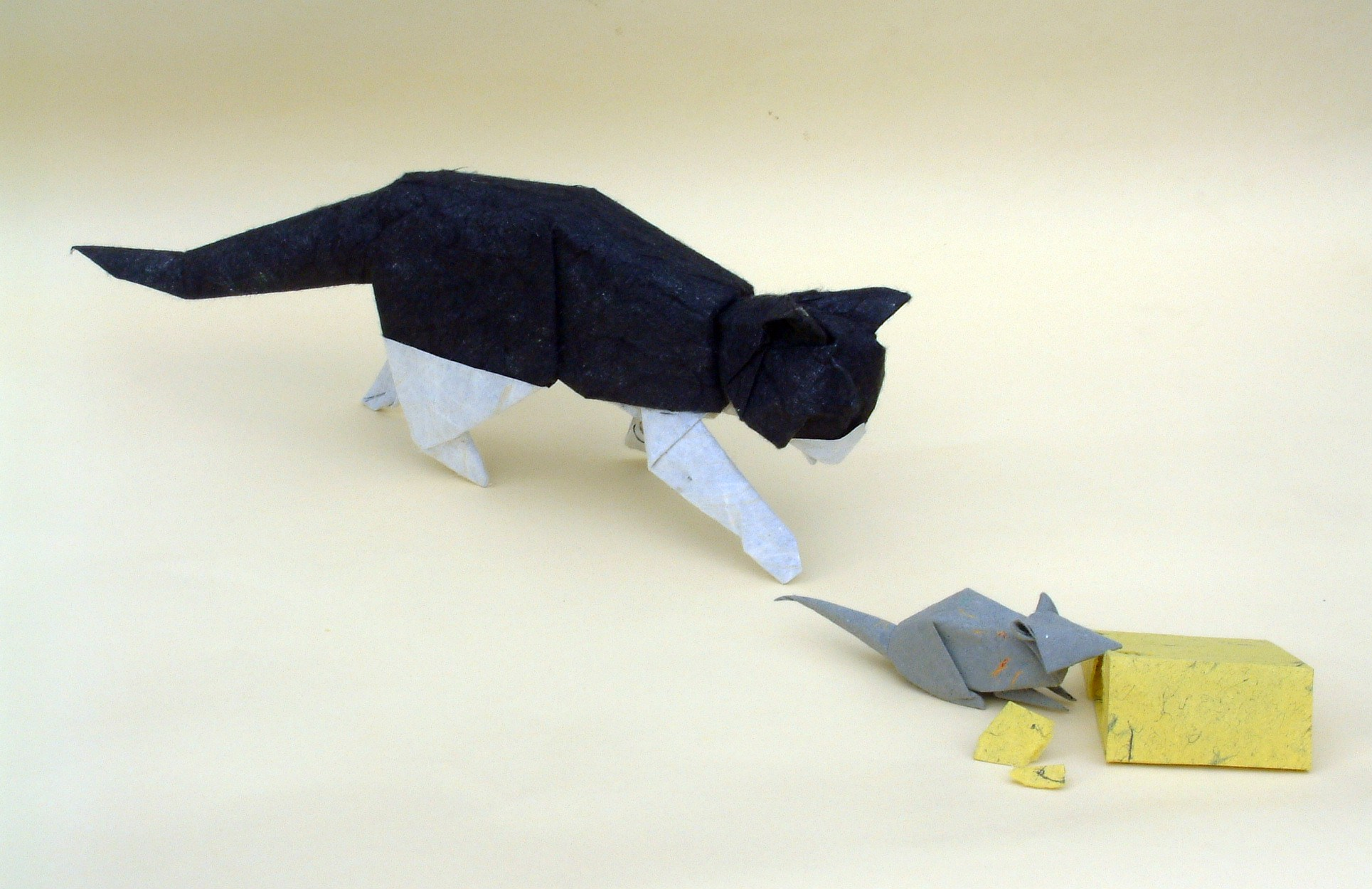 Origami Mouse Instructions Pdf Tutorial Lets Make It To Fold From The Paper Diagram Of Themouse Diagrams David Brill Penguin