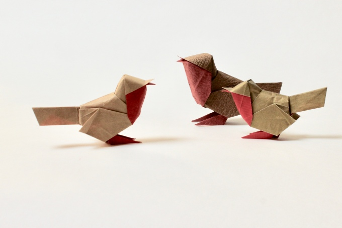 New origami diagrams